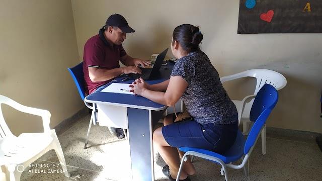 Cadastramento das famílias no Programa Conta Comigo foi iniciado hoje em Amparo