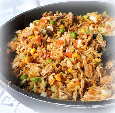 Five Spice Chicken Fried Rice