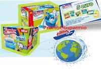 Logo Spontex ''Soddisfatti e premiati.Fai girare il pulito'': come ricevere un carnet di buoni sconto e vincere una crociera