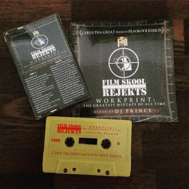 Film Skool Rejekts The Greatest Mixtape of all Time CD Cassette