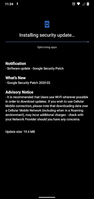Nokia 7.1 receiving February 2020 Android Security Patch