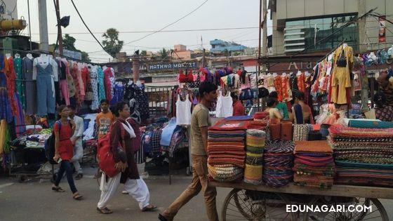 Hathwa market Patna Bihar