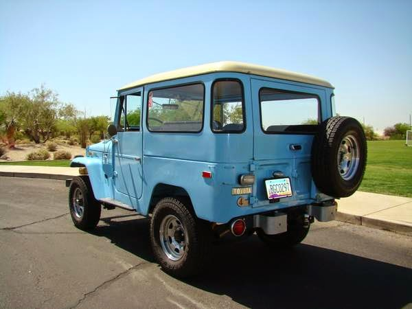 Awesome 1973 Toyota Land Cruiser FJ40 | Auto Restorationice