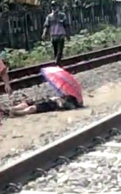 """Seberangi Rel lewat """"Jalan Tikus"""", Seorang Warga Karangawen Tewas Tertabrak Kereta Api"""