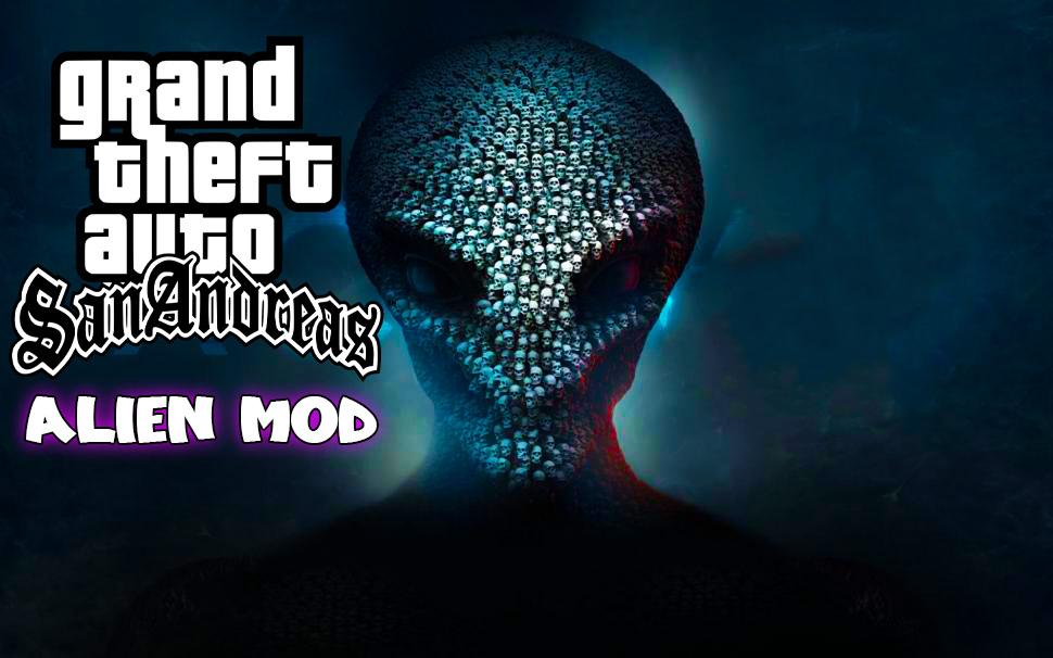 GTA San Andreas Alien Mod PC