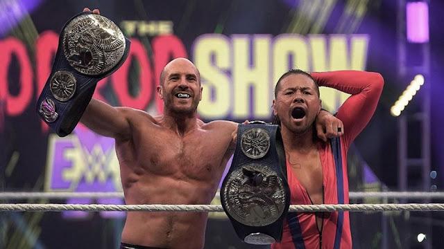 Cesaro y Nakamura irrumpen en los títulos por parejas de SmackDown