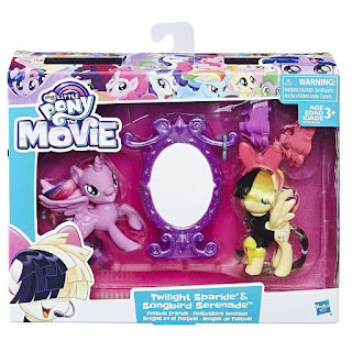 Songbird Serenade and Twilight Sparkle Brushable