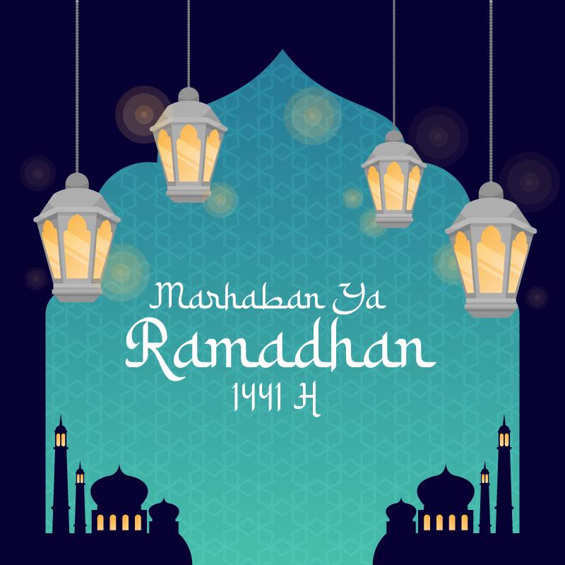 Marhaban Ya Ramadhan 1441 H : Kumpulan Gambar Desain ...