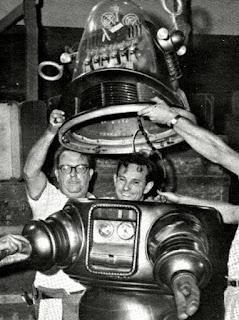 Robby el Robot detrás de las cámaras