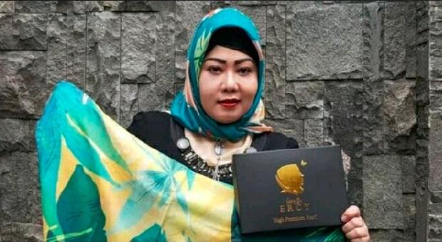 Penyanyi Wina DH Kini Geluti Bisnis Hijab