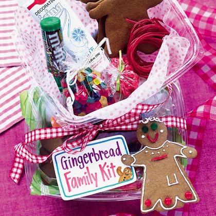 Gingerbread Family Kit