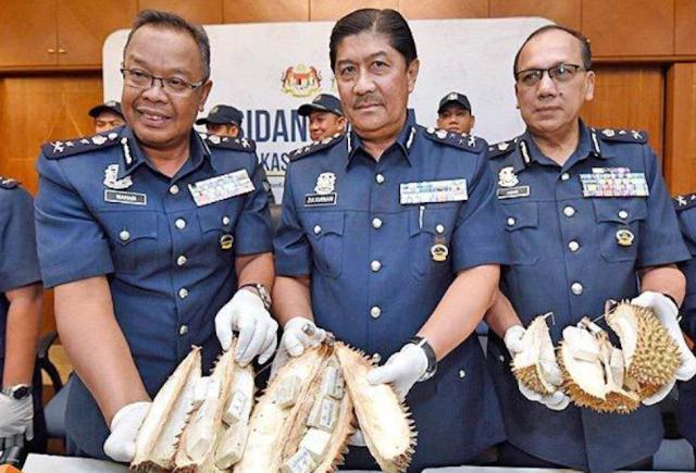 Yare-yare, Seorang Wanita Nekat Menyelundupkan Benda Terlarang Ini di Dalam Durian