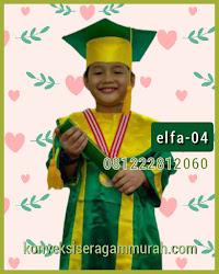 jual baju toga wisuda anak SD di Serawak