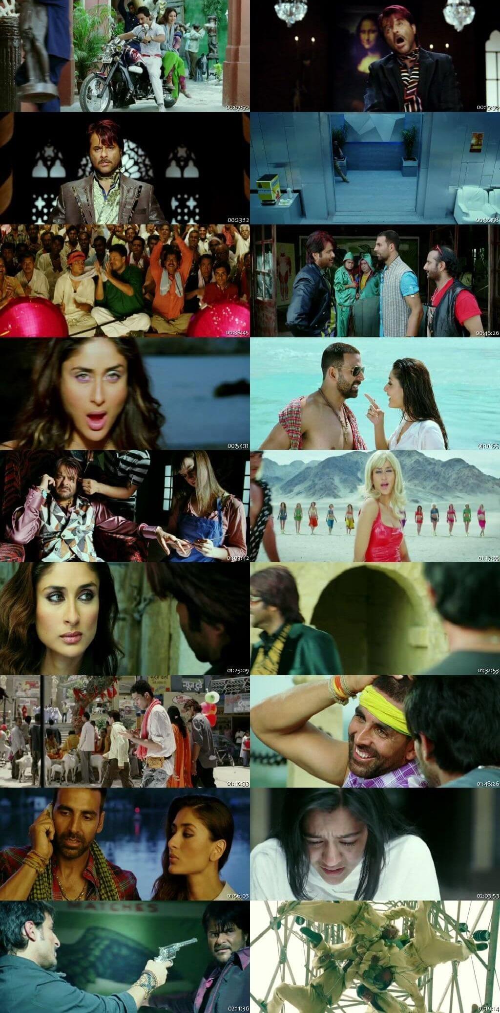 Screen Shot Of Tashan 2008 Full Movie Free Download HD 720P Watch Online