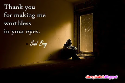 Sad Boy Quote In English Emotional Broken Heart Quotes For ...