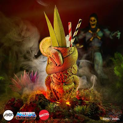 Power-Con Mondo Exclusives Skeletor Tiki Mug Bone Variant 01