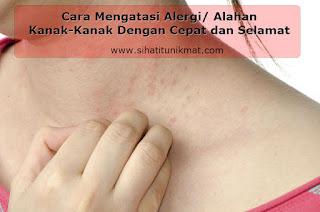 tip mengatasi alergi/alahan
