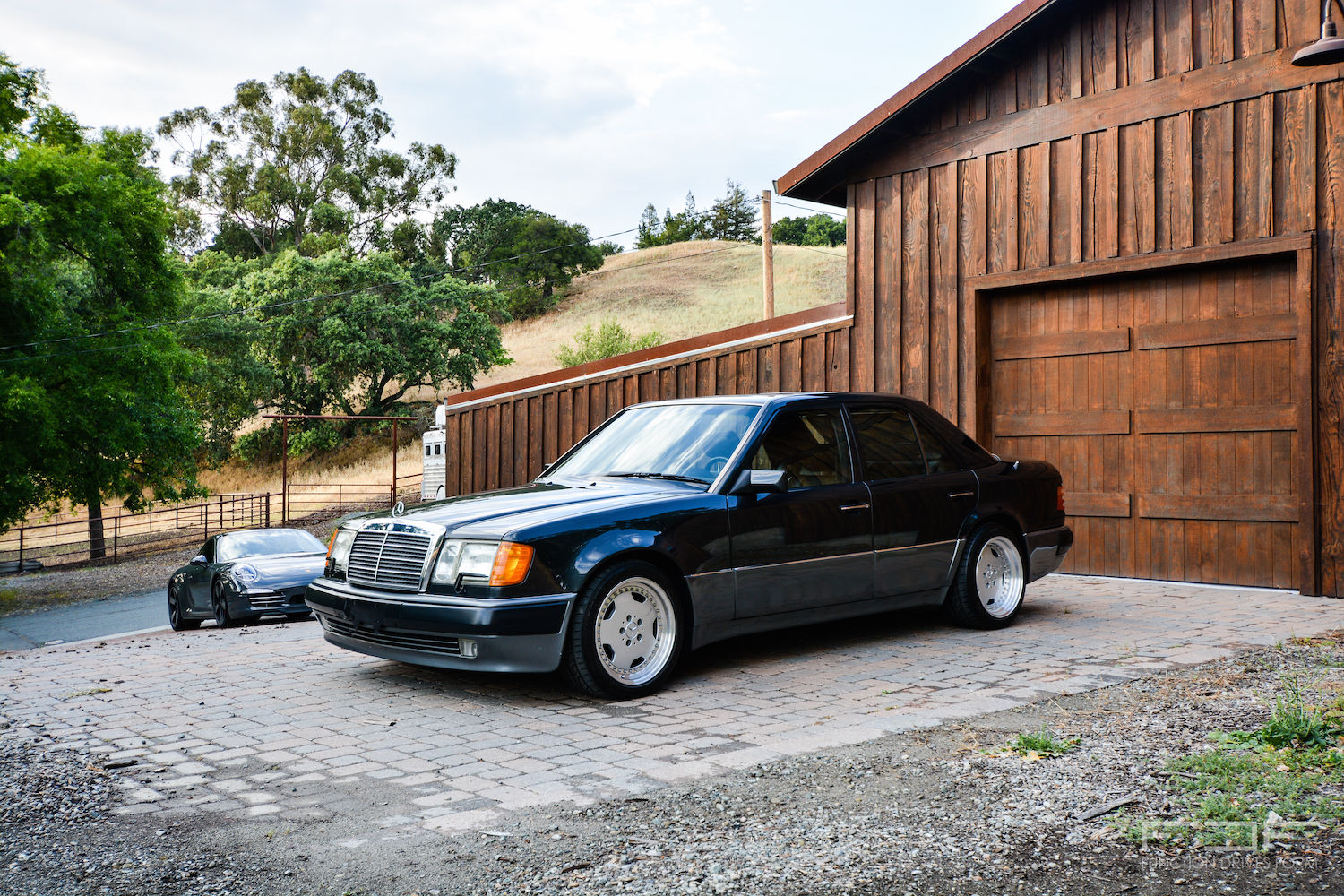 Mercedes Benz W124 500e On Oz Amg Aero Benztuning