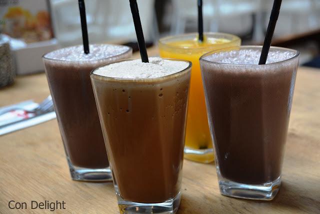 משקאות קרים פלפלת Milkshakes pilpelet
