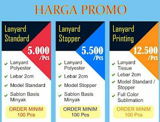 Daftar Harga Tali ID Card Jakarta