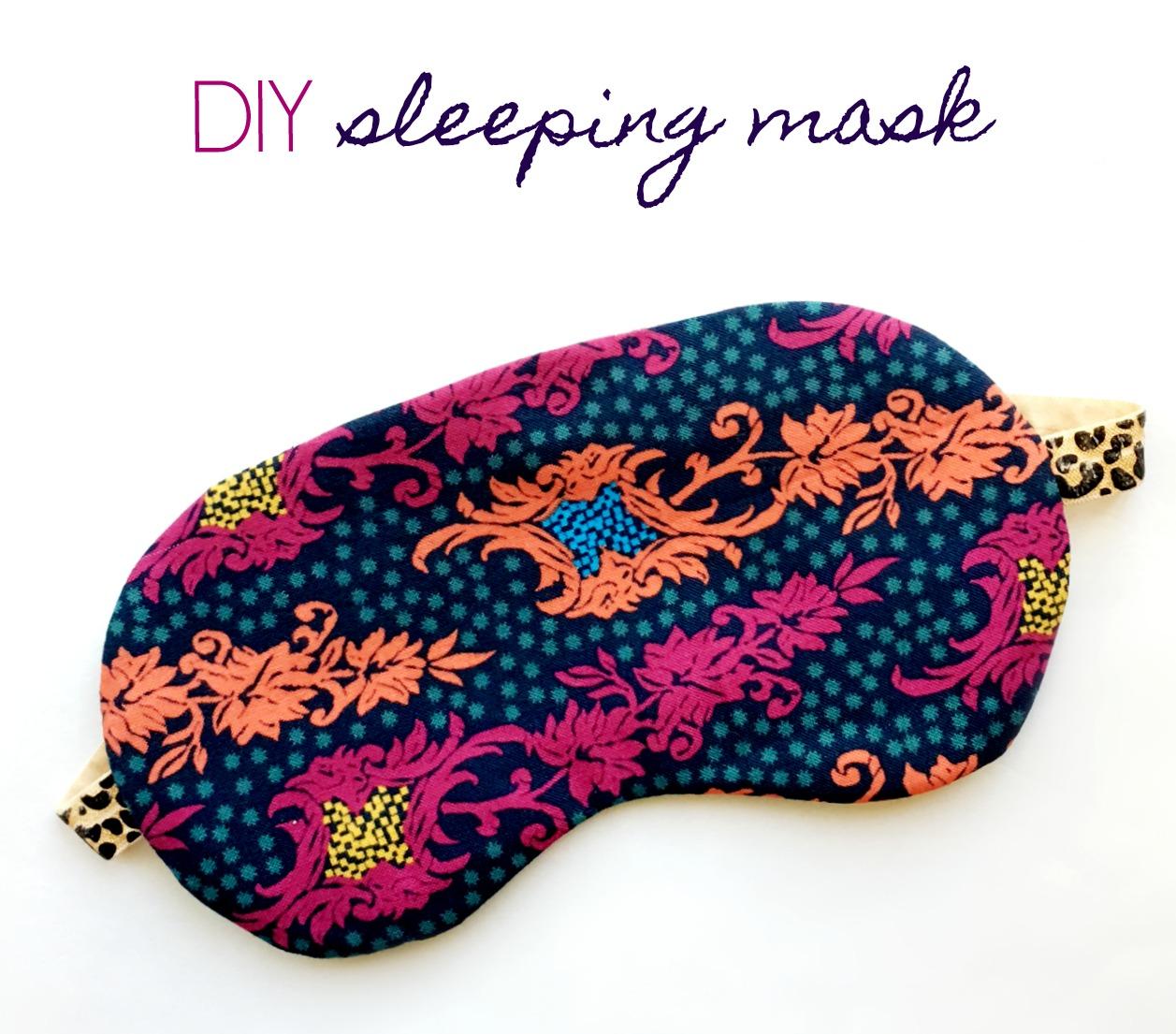 Sewhungryhippie How To Sew A Sleep Mask