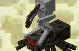 Minecraft Spider Jockey Figures