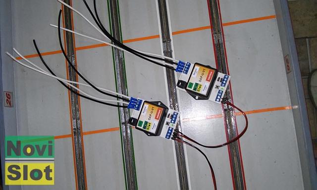 Modificação dos Sensores na pista para uso com o SAP