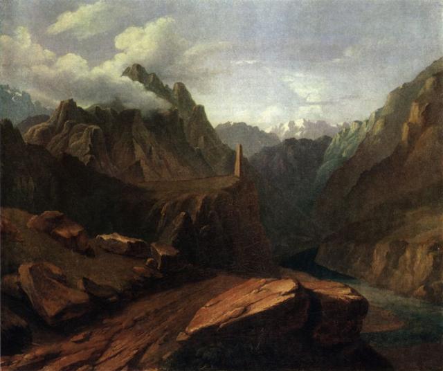 М.Ю. Лермонтов Башня в Сиони, 1837-1838 гг.
