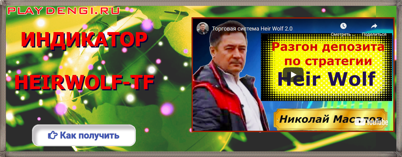 Форекс индикатор разворота Heir Wolf TF