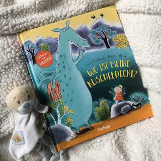 """""""Wo ist meine Kuscheldecke?"""" von Lucy Rowland, illustriert von Paula Metcalf, mit Reimen von Paul Maar, Oetinger Verlag, Rezension Kinderbuchblog Familienbuecherei"""