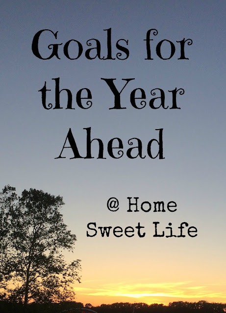 Goals for the Year Ahead, 2017 Goals