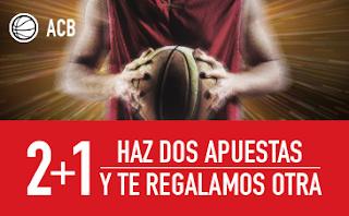 sportium promocion acb 24-25 marzo