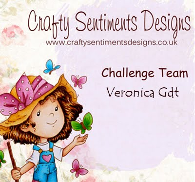 Sono nel Challeng Team di Crafty Sentiments designs