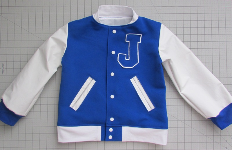 create kids couture varsity letter for a letterman jacket