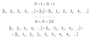 Много множеств натуральных чисел. Бесконечность плюс единица, бесконечность плюс бесконечность. Математика для блондинок.