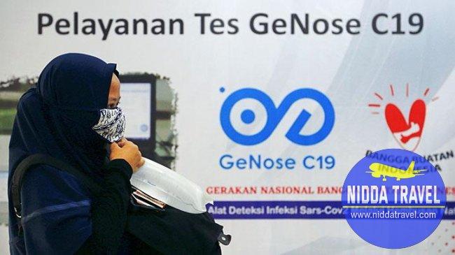 tes genose c19 akan diuji coba pada 4 bandara mulai 1 april 2021
