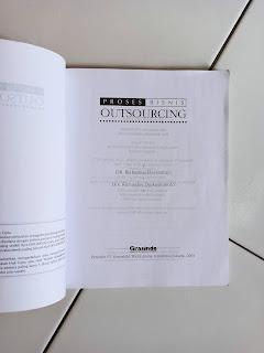 1 Jual Buku Bekas Proses Bisnis Outsourcing