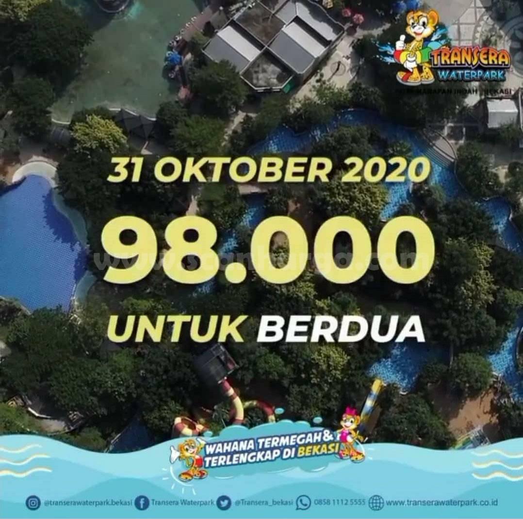 Promo Transera Waterpark Liburan Akhir Bulan 28 - 31 Oktober 2020 3