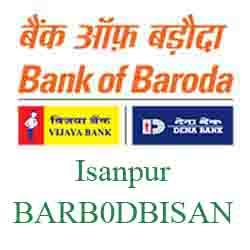 New IFSC Code Dena Bank of Baroda Isanpur, Ahmedabad