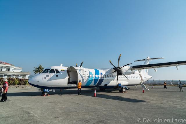 Aéroport de Thandwe-Ngapali-Birmanie-Myanmar