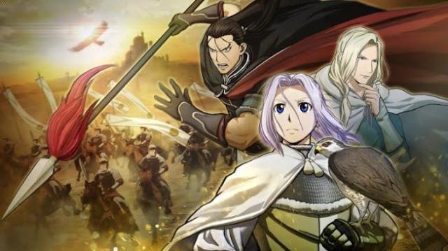 Top Sword Anime Series ( Where the Main Character Uses a Sword) - Arslan Senki (The Heroic Legend of Arslan)