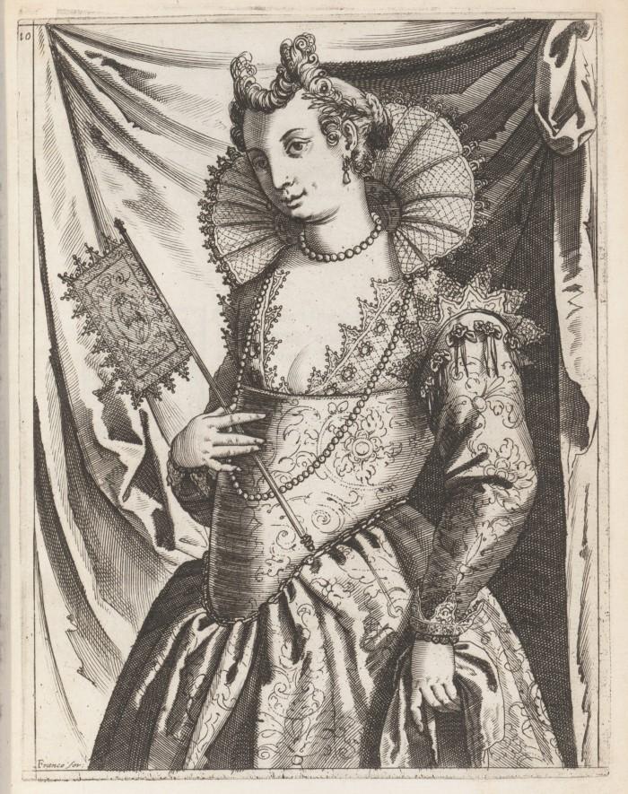 Платье венецианских женщин