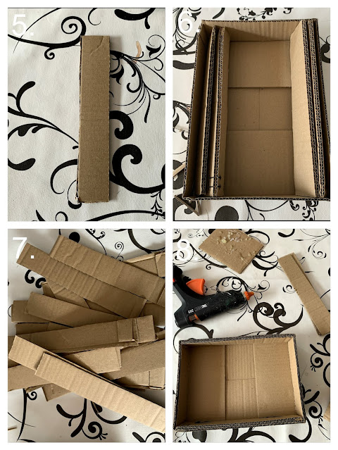 How To Make The Mini Cardboard Scratcher b ©BionicBasil® Craft-Fest Day 2