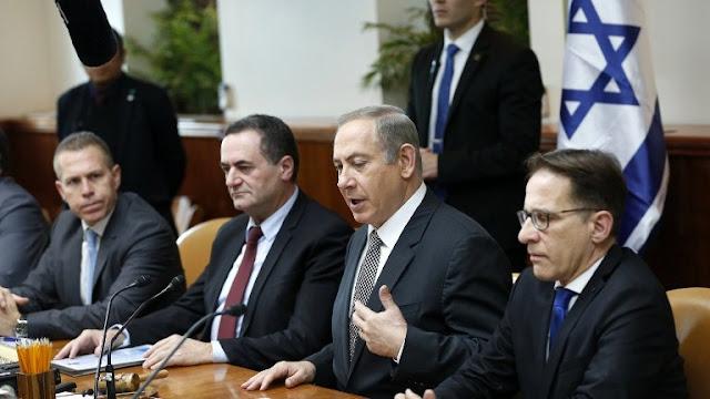 Netanyahu reunión de Gabinete