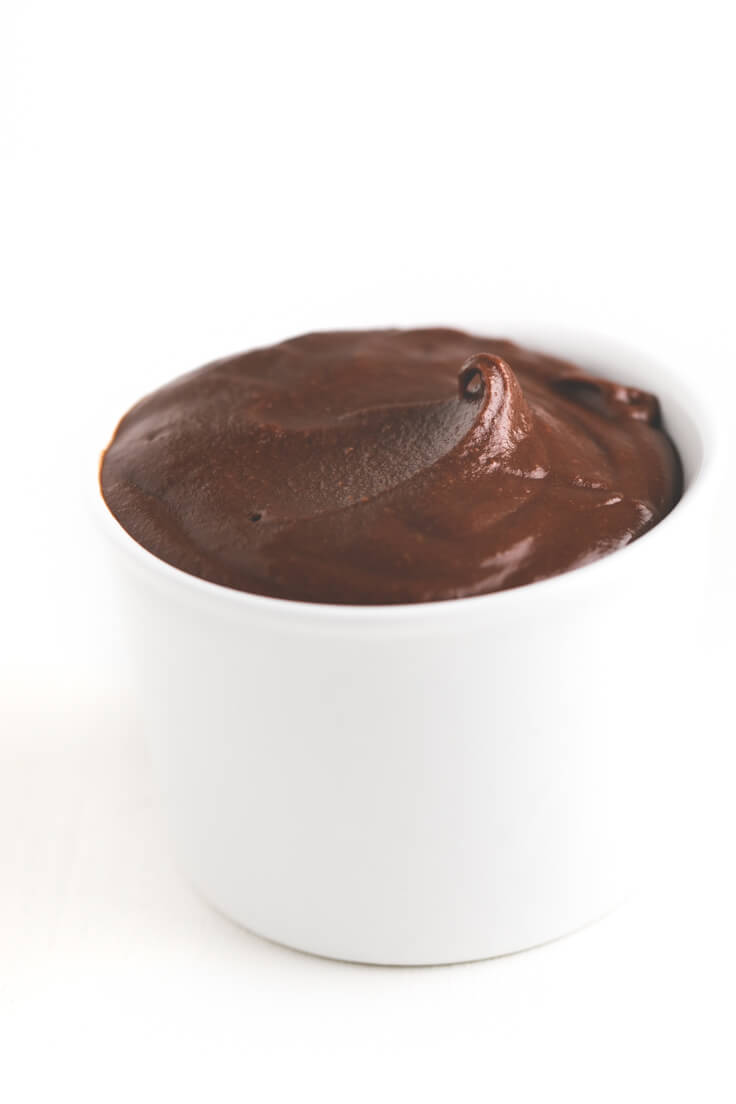 Low-Fat Cocoa and Sweet Potato Mousse - Sweet potatoes play a lot in low-fat baking, and Who can make recipes as rich as this cocoa mousse.