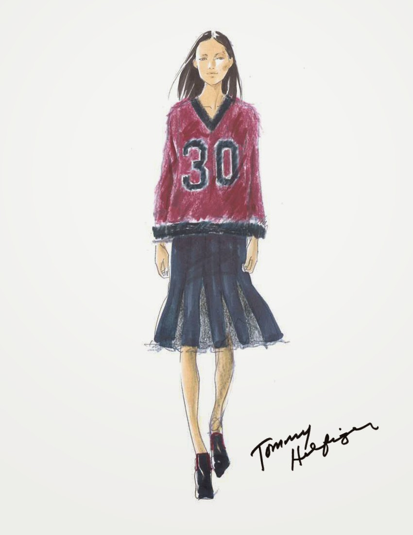 045269a054b1a5 Tommy Hilfiger Limited-Edition Fall 2015 Designs Available Straight From  the Runway to Celebrate 30th Anniversary