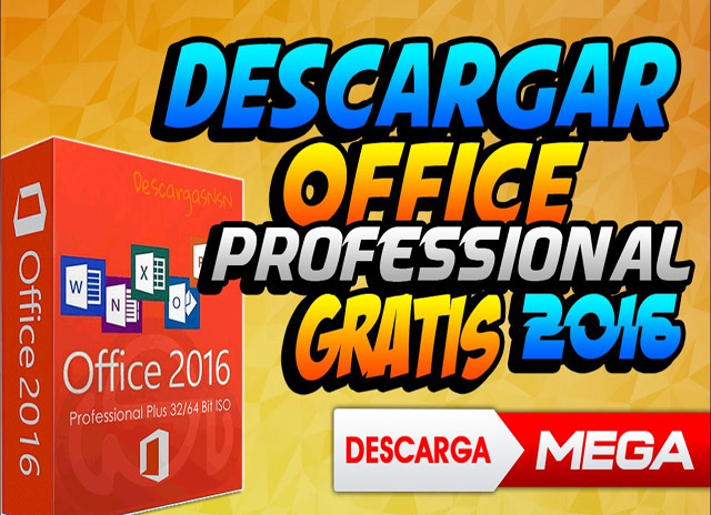 Microsoft Office Professional Plus (2016) VL (Español) v16 0 4849