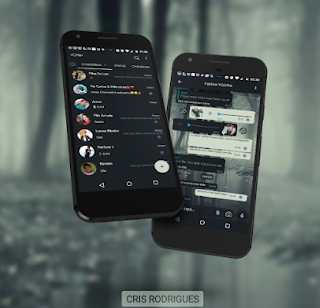 Dark Theme For YOWhatsApp & Fouad WhatsApp By Anna