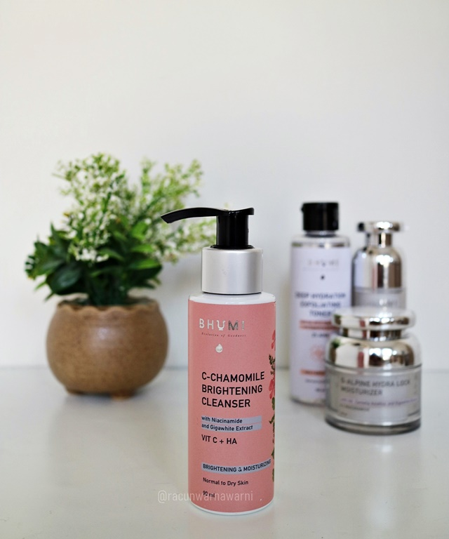 Review Bhumi Brightening Cleanser