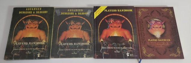 AD&D Players Manual, 4 versions